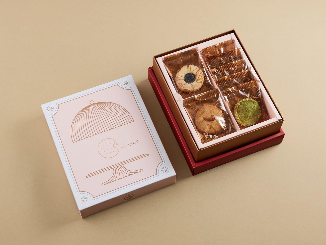 法式餅乾盅(雙層) $908 2