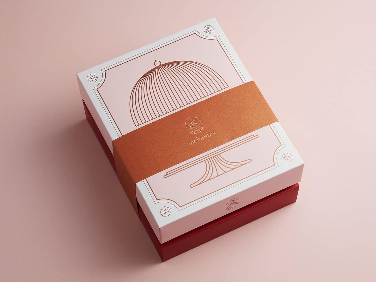 法式餅乾盅(雙層) $908 4